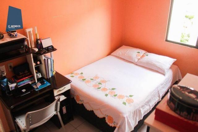 Apartamento 48 m² à venda, 02 Quartos 01 vaga, Antônio Bezerra, Fortaleza. - Foto 20