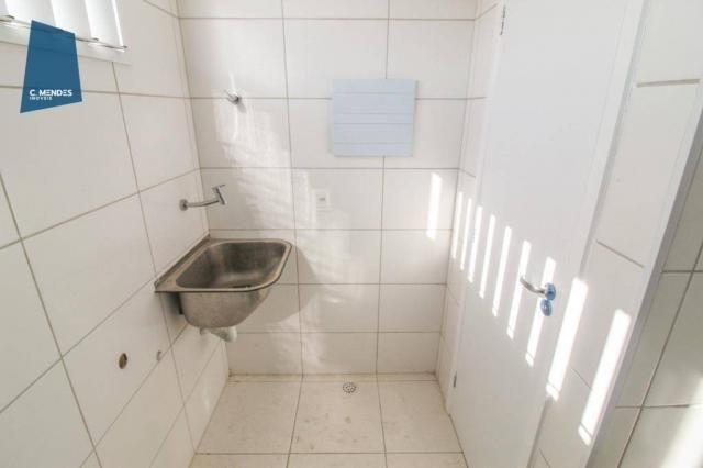Apartamento para alugar, 105 m² por R$ 2.300,00/mês - Jardim das Oliveiras - Fortaleza/CE - Foto 8