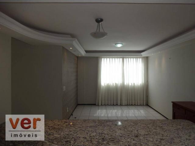 Apartamento com 3 dormitórios para alugar, 74 m² por R$ 800,00/mês - Messejana - Fortaleza - Foto 16