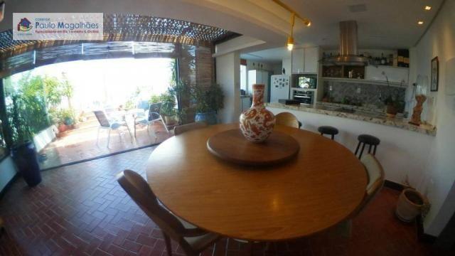 Cobertura com 4 dormitórios 3 suítes  vista a mar nascente à venda, 575m² total m² Rio Ver - Foto 3