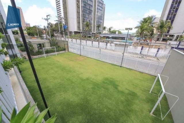 Apartamento com 3 dormitórios à venda, 71 m² por R$ 455.000,00 - Cocó - Fortaleza/CE - Foto 11