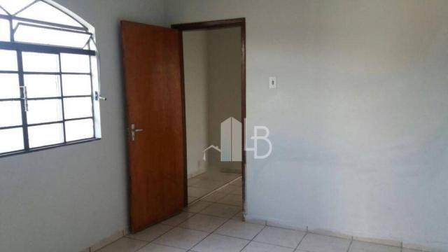 Casa com 3 dormitórios para alugar, 120 m² por R$ 1.500,00/mês - Progresso - Uberlândia/MG - Foto 2