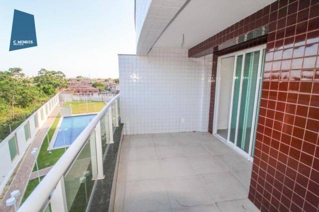 Apartamento para alugar, 105 m² por R$ 2.300,00/mês - Jardim das Oliveiras - Fortaleza/CE - Foto 5