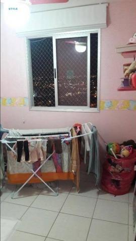 Apartamento no Condomínio Garden Goiabeiras com 3 dormitórios à venda, 67 m² por R$ 275.00 - Foto 10