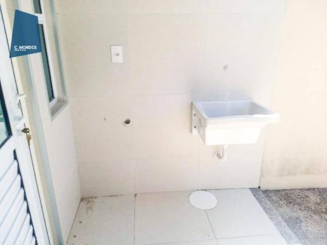 Casa Duplex 124 m² para locação, semi-mobiliada 3 suites 3 vagas, condominio, Jacundá, Eus - Foto 14