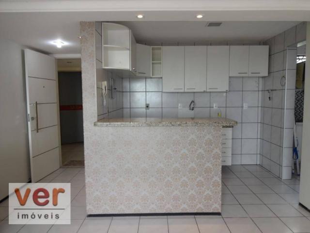 Apartamento com 3 dormitórios para alugar, 74 m² por R$ 800,00/mês - Messejana - Fortaleza - Foto 18