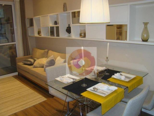 Apartamento com 2 dormitórios à venda, 51 m² por R$ 240.000,00 - Neoville - Curitiba/PR - Foto 14