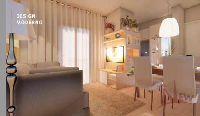 Apartamento 03 quartos sendo 01 suíte no Três Marias, São José dos Pinhais - Foto 2
