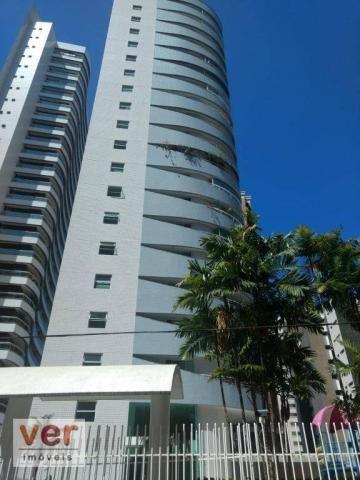 Apartamento à venda, 218 m² por R$ 1.350.000,00 - Meireles - Fortaleza/CE - Foto 2