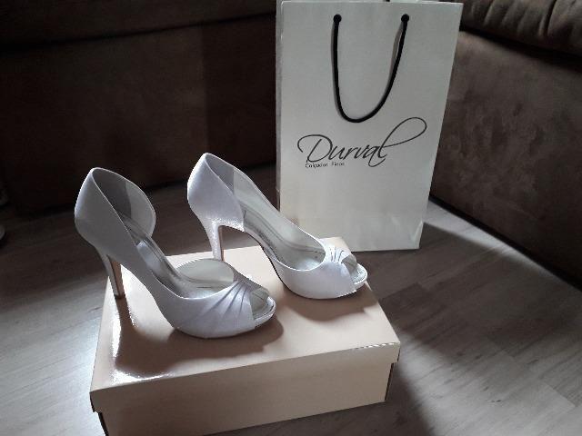 823fa90e7 Sapato fino para Noivas-Durval Calçados - Roupas e calçados ...
