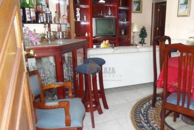 Apartamento com 2 dormitórios para alugar, 90 m² por R$ 3.000,00/mês - Vila Guilhermina -  - Foto 7