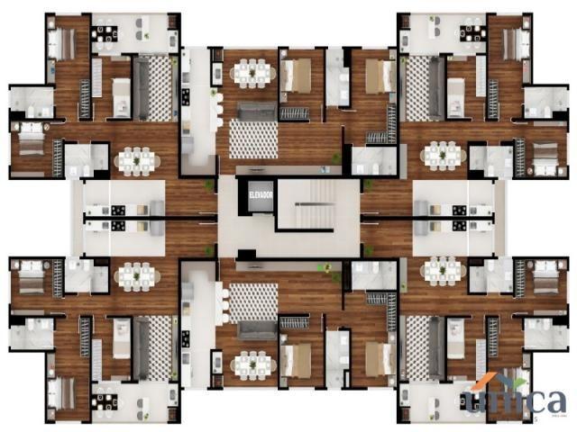 Apartamento à venda com 1 dormitórios em Cascatas, Campo alegre cod:UN01106 - Foto 2