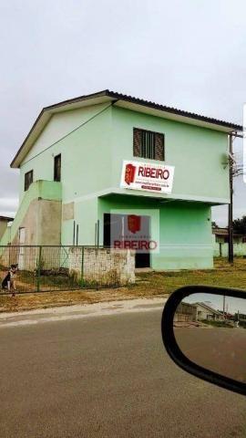 Sala Comercial com Apartamento!!! à venda, 160 m² por R$ 300.000 - Nova Divinéia - Ararang - Foto 2