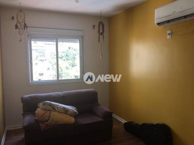 Apartamento com 3 dormitórios à venda, 71 m² por r$ 340.000 - mauá - novo hamburgo/rs - Foto 3