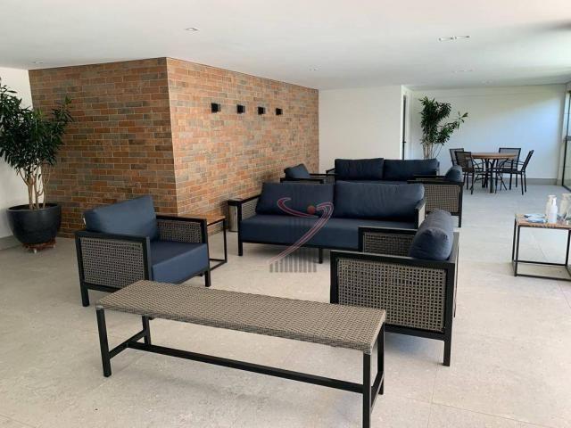 Apartamento com 1 dormitório para alugar, 50 m² por R$ 2.500,00/mês - Edifício Riverside - - Foto 19