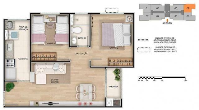 Spazio Montecarlo - Apartamento de 2 quartos na Região do Jardim América, Maringá - PR - I - Foto 17