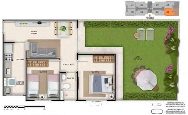 Spazio Montecarlo - Apartamento de 2 quartos na Região do Jardim América, Maringá - PR - I - Foto 15