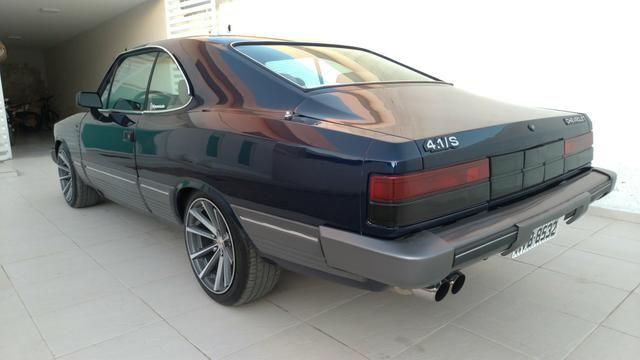 Opala Coupe diplomata 4.1s 6 cilindros de chassi 1988 versão rara - Foto 4