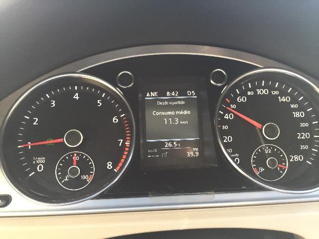 VW Passat CC R-line 3.6 V6 2014 o mais top da categoria - Foto 10