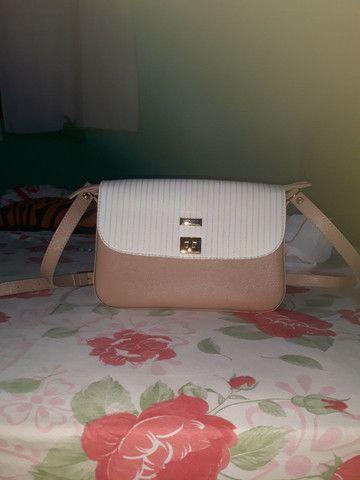 Bolsa couro fino ,valor 200 reais  - Foto 3
