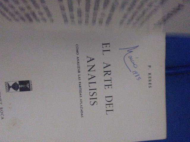 Livro de xadrez El arte del análisis  - Foto 3
