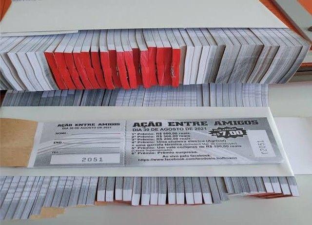Fachadas em lona; Cartão de Visita criativos; Adesivos; Bannerr; Rifas; Blocos de pedidos - Foto 6