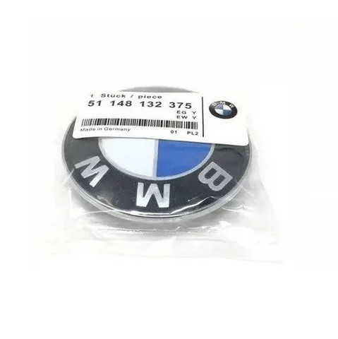 Emblema Bmw 82mm Capô Porta Malas Series 3 5 7 8 X5 Z3 X6 - Foto 6