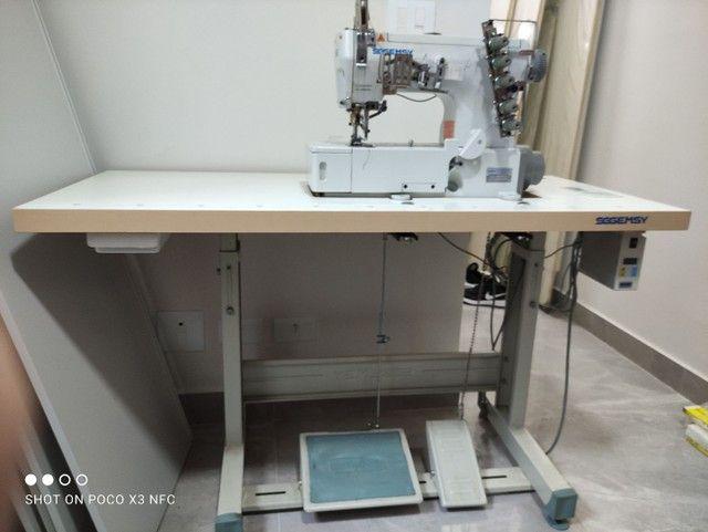 Máquina de costura Galoneira GEMSY motor Direct Drive - Foto 3
