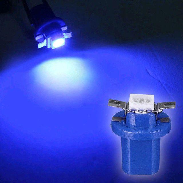 Lâmpada LED para Painel de Carro B8 5D 5050 1 LED/SMD T5 - Foto 2