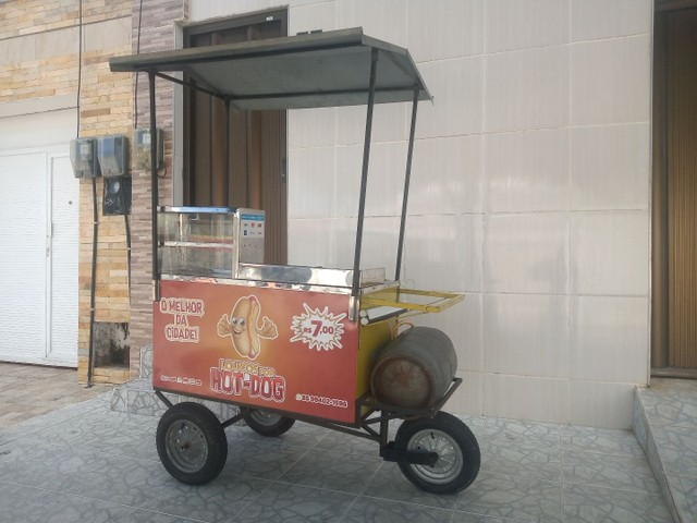 Vendo ou troco carrinho de Hot-dog - Foto 4