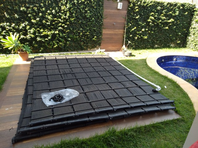 32 placas de aquecer piscina  - Foto 3