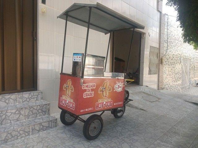 Vendo ou troco carrinho de Hot-dog - Foto 3