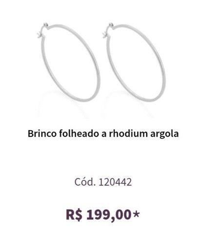 Argola + anel Rommanel