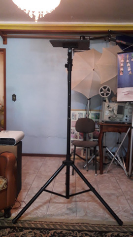 Tripé pedestal/suporte para Projetor e Caixa de som - Foto 4