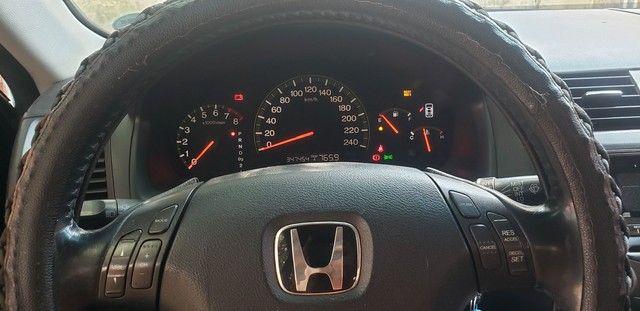 Honda Accord V6 vtec completo teto couro. Nave. Pego menor valor  - Foto 17