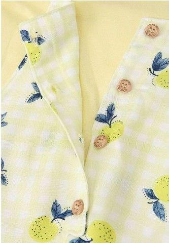Jardineira Salopete Lemon 1 ano - Foto 4