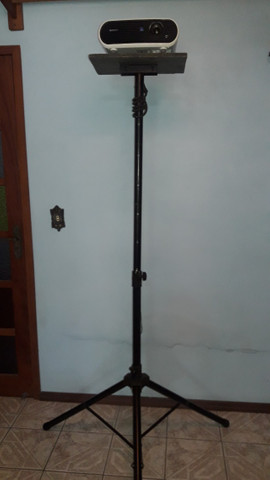 Tripé pedestal/suporte para Projetor e Caixa de som - Foto 2