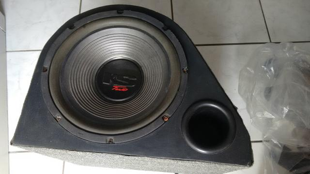 Caixa de som automotiva subwoofer 12