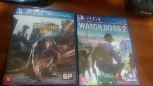 Watch dogs 2 e infamous second son