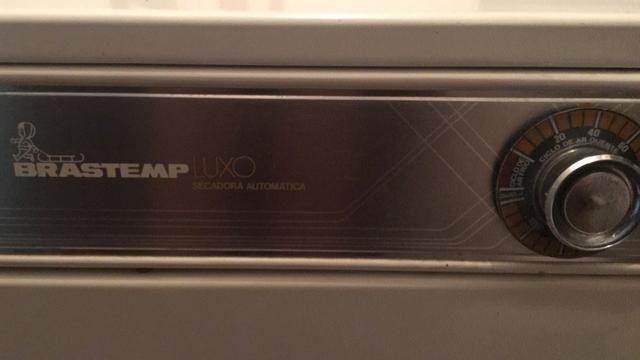 Secadora de Roupas Brastemp Luxo