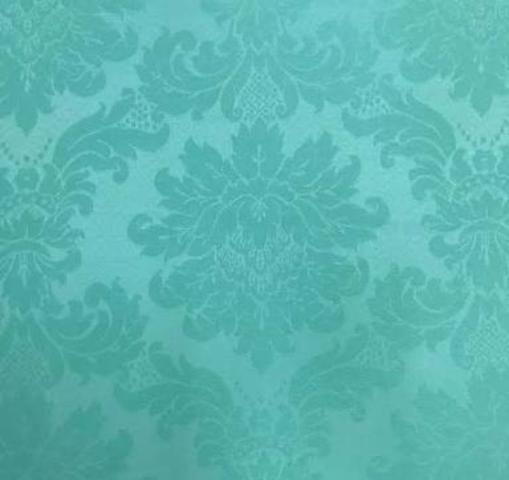 Tecido Jacqard Verde Tiffany
