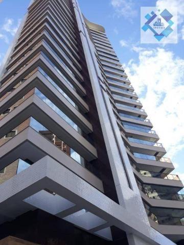 Apartamento com 4 dormitórios à venda, 235 m² por R$ 2.000.000 - Meireles - Fortaleza/CE