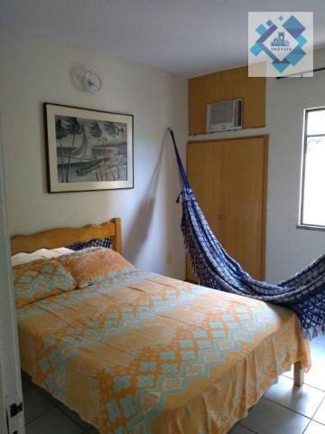 Apartamento com 1 dormitório à venda, 38 m² por R$ 220.000 - Porto das Dunas - Aquiraz/CE - Foto 6
