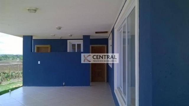 Casa residencial para venda e locação, Arembepe, Camaçari - CA0133. - Foto 9