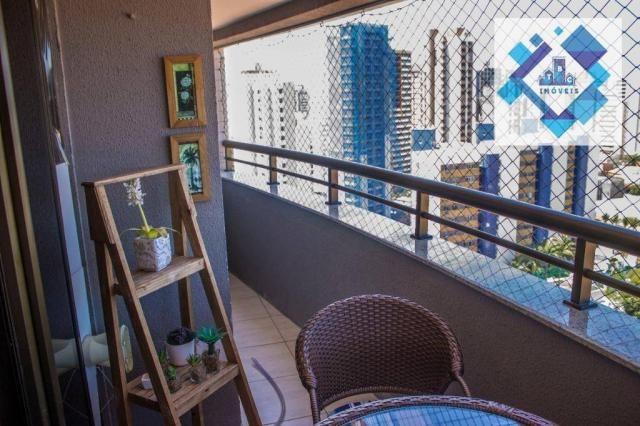 Apartamento residencial à venda, Varjota, Fortaleza. - Foto 9