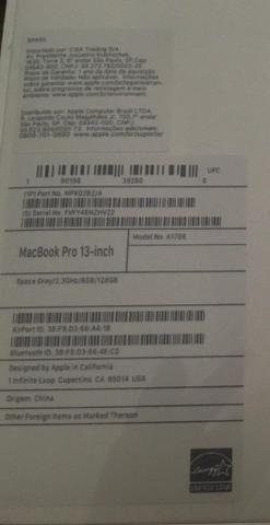 MacBook Pro lacrado sem uso R$6000,00 - Foto 2