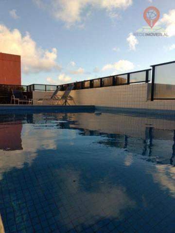 Apartamento com 2 dormitórios à venda, 110 m² por R$ 550.000 - Jatiúca - Maceió/AL - Foto 16
