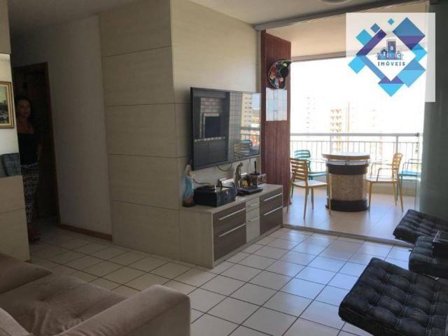 Apartamento 80m² no bairro do Cocó.