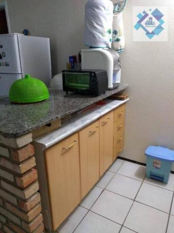 Apartamento com 1 dormitório à venda, 38 m² por R$ 220.000 - Porto das Dunas - Aquiraz/CE - Foto 3