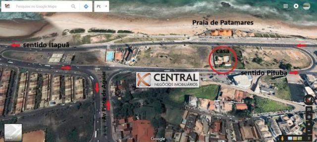 Casa com 11 dormitórios para alugar, 474 m² por R$ 22.000,00/mês - Pituaçu - Salvador/BA - Foto 3